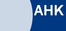 AHK - deutsche Auslandshandelskammer Webseite